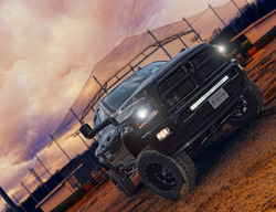 Route 66 Lifted Ram Truck Black