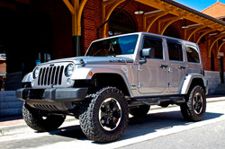 Route 66 Lifted Jeep JK Silver