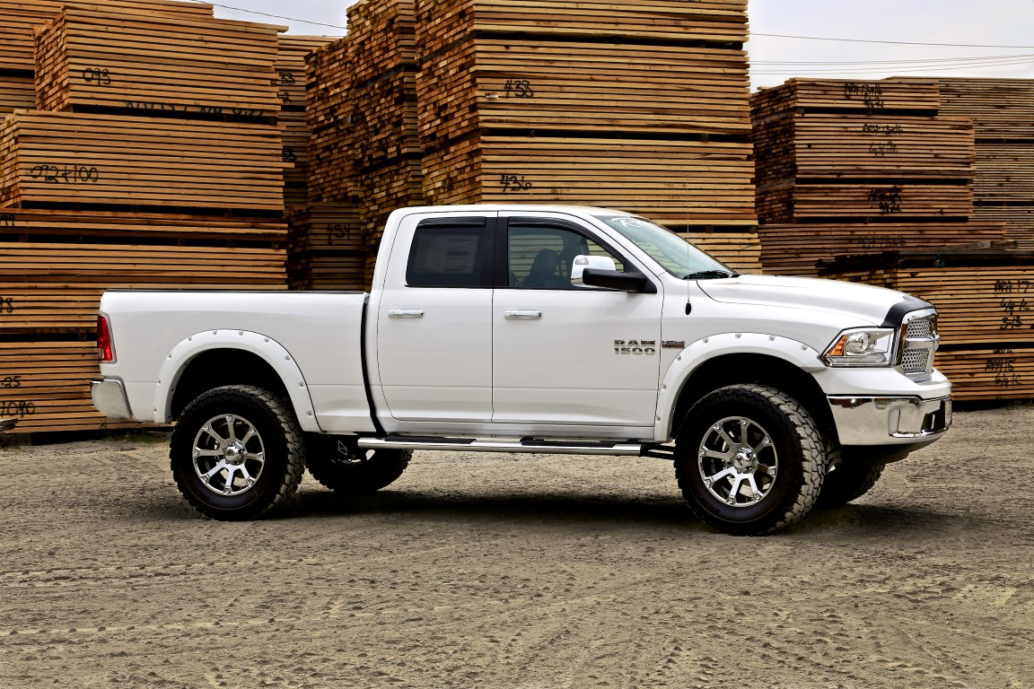 Route 66 Lifted Ram 1500 White