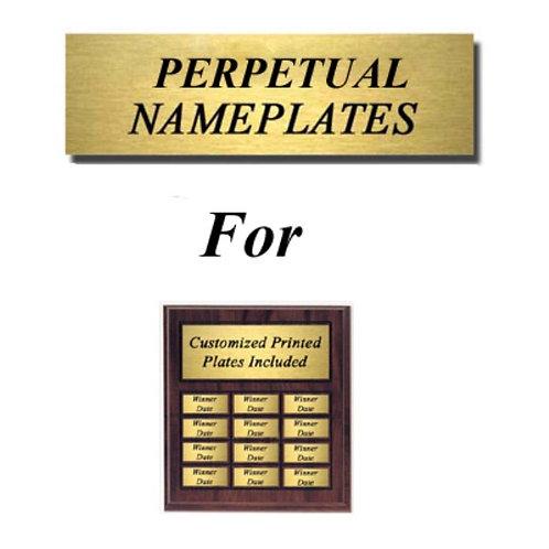 Perpetual Name Plate