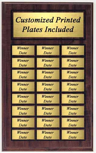 Perpetual Name Plaque: Large