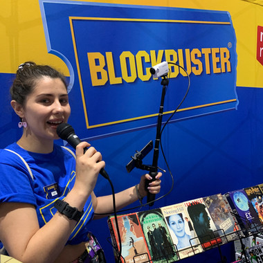 We streamed our booth and the games we were playing live onto our Twitch channel