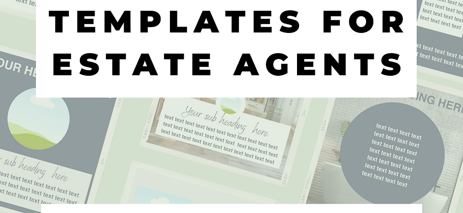 40 Canva Templates for Estate Agents