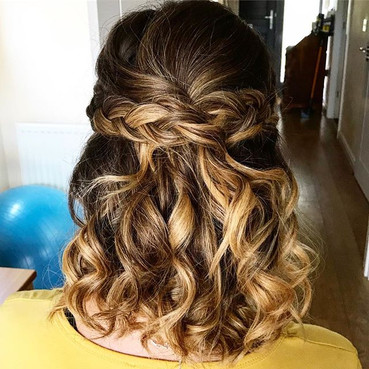 Waves and plaits perfect style for short