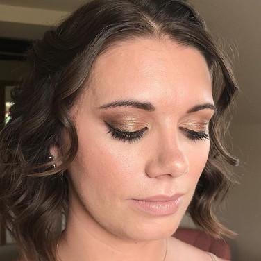 Smokey eye wedding Makeup