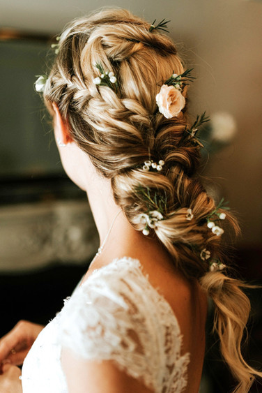 Boho Mermaid Braid Hairstyle