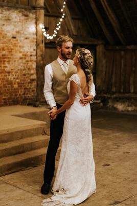 Barn rustic wedding hair and makeup