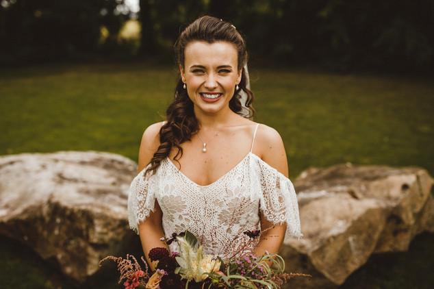 Romantic whimsical wedding
