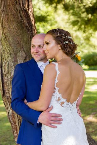 Boho Wedding Bride and groom