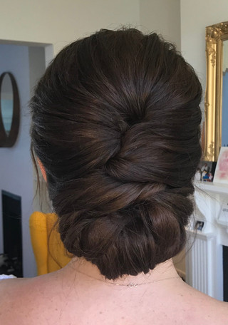 Modern Updo Hairstyle