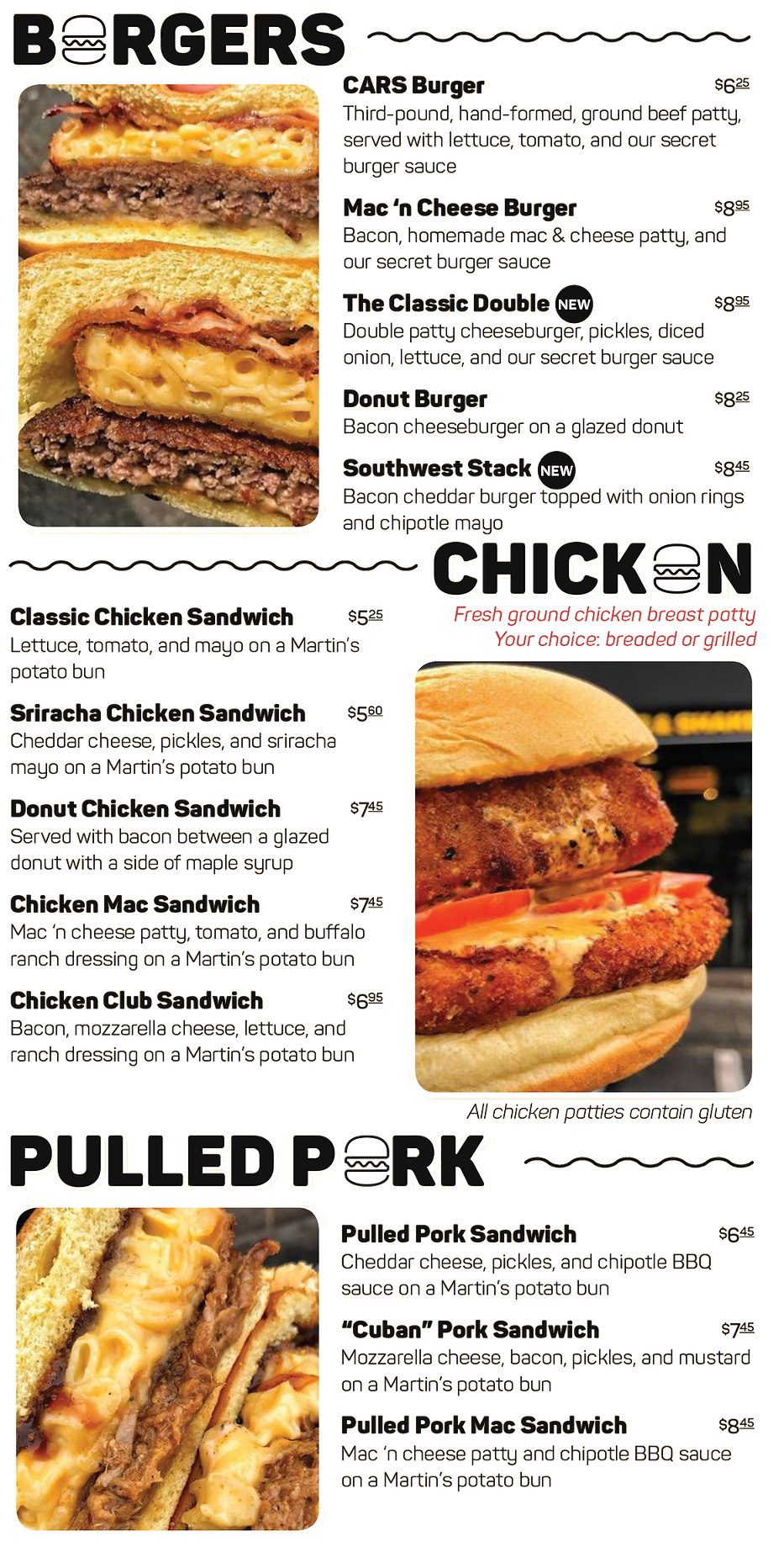CARS Ramsey, CARS Montclair, CARS, Fat Sandwiches, Shakes, NJ, Food Near Me, Hungry, Shakes, Burgers, Chicken, Pork, Catering Ramsey, Catering Montclair, Fundraising Ideas, Post-Wedding Food, Awesome Ideas, Awesome Food NJ, Delivery, Food Delivery