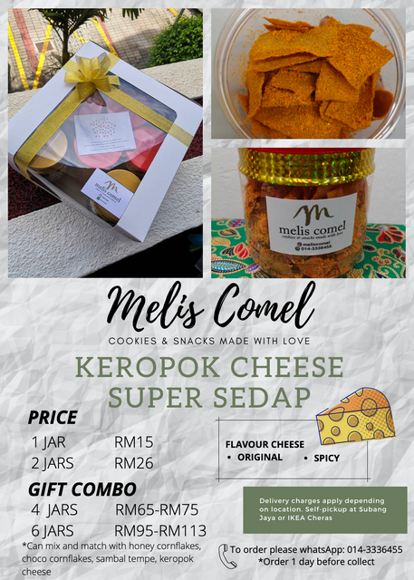 Melis Comel Cookies & Snacks made with Love