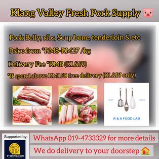 Klang Valley Fresh Pork Supply