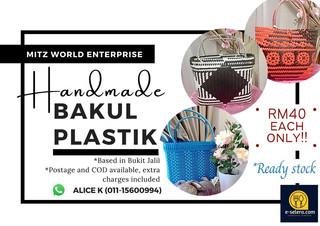 Handmade Bakul Plastik