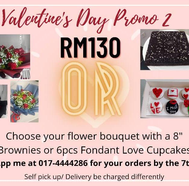 Valentine's Day Promo 1 - RM130.00