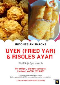 Indonesian Snacks
