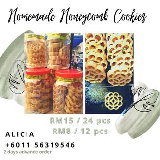 Homemade Honeycomb Cookies