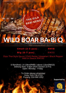 WILD BOAR BA-BI-Q