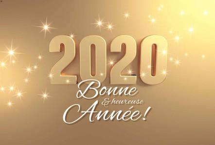 Meilleurs Vœux et dates importantes 2020