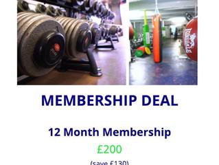 Fantastic Membership Deals for April 2018!!!