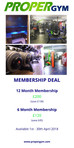 Fantastic Membership Deals for April 2018!!!