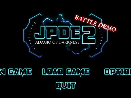 JPDE2 - Adagio of Darkness [BATTLE DEMO]+[WEB VERSION]