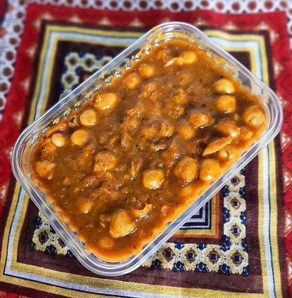 curry de grão de bico vegano