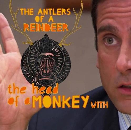 """The Office"" Monkey/Porcupine"