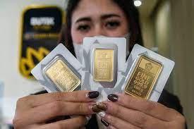 Solid Gold   Emas Antam Dijual Rp959.000/Gram