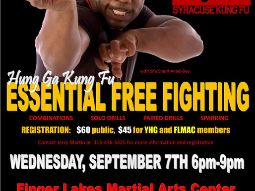 Essential Skills for Free Fighting: Workshop with Sifu Bey