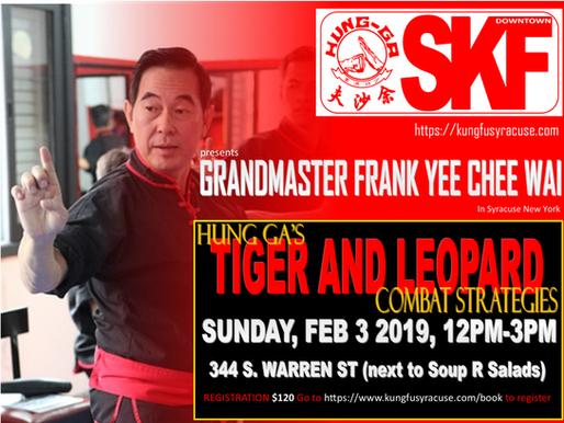 Grandmaster Frank Yee Chee Wai Seminar