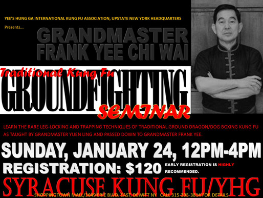 Ground Fighting Techniques with Grand Master Frank Yee