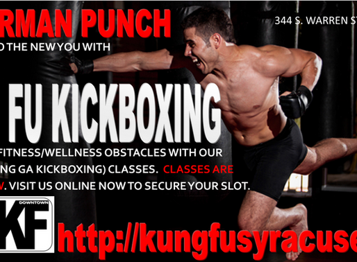 New Kung Fu Kickboxing Classes Downtown!
