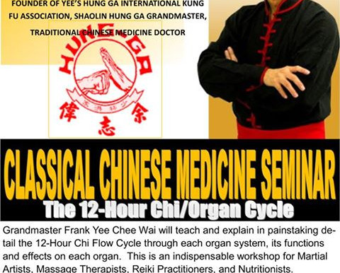 Classical Chinese Medicine Seminar with Grand Master Frank Yee