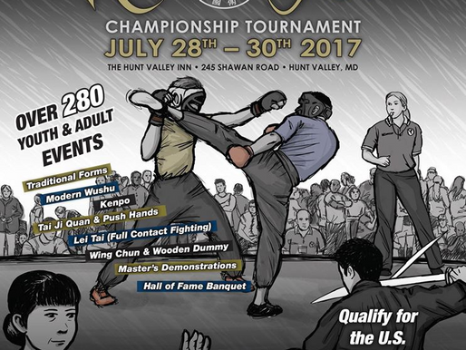 US Kuo Shu Tournament - July 28-30th, 2017