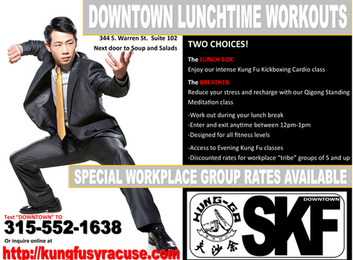 Kung Fu on Your Lunch Break