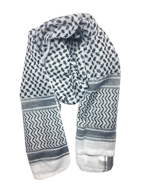 Keffiyeh | Black & White