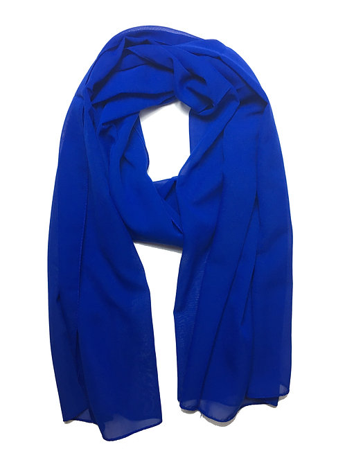 Premium Chiffon | Royal Blue