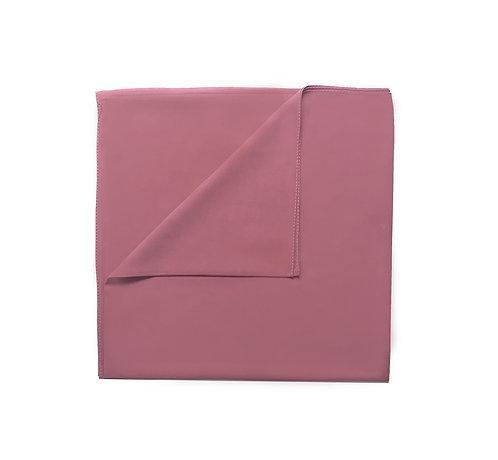 Plain Square Chiffon | Rose Pink