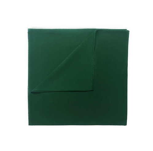 Plain Square Chiffon | Forest Green