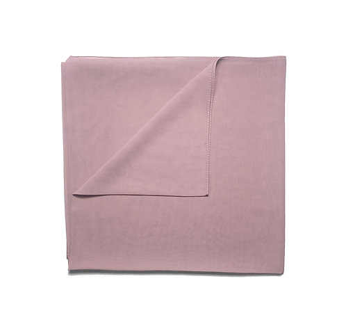 Plain Square Chiffon | Dusty Pink