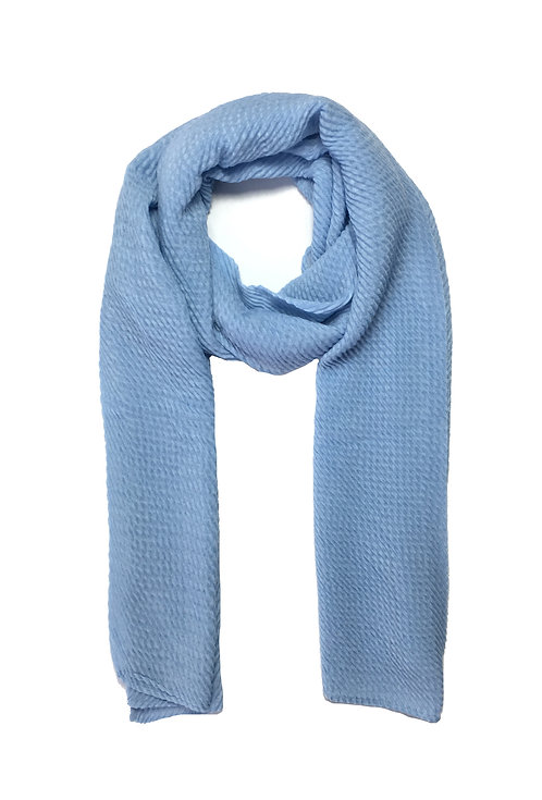 Ripple Hijab | Sky Blue