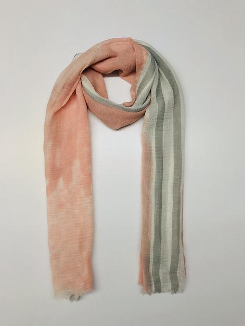 Viscose | Pink and Gray