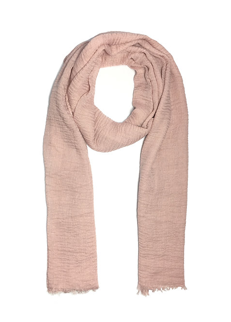 Crinkle Hijab | Pink Pearl