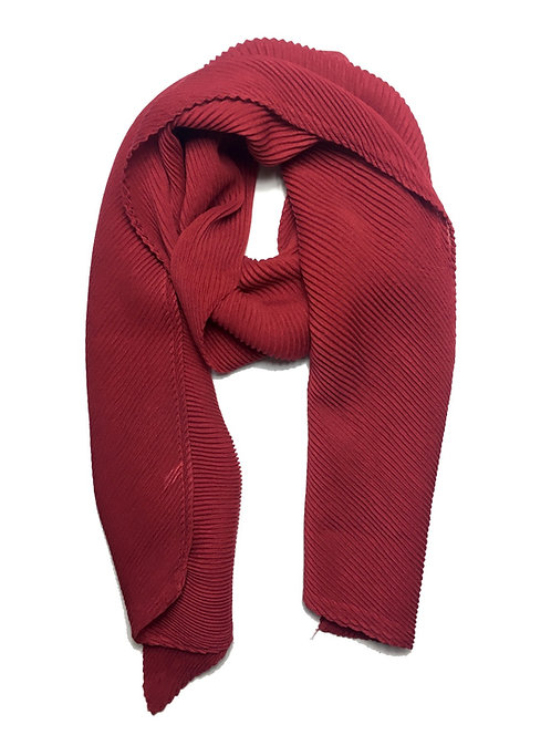 Ripple Hijab | Red