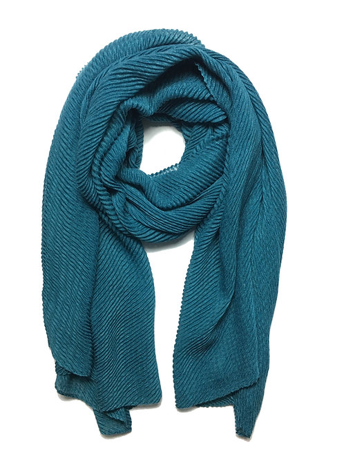 Ripple Hijab | Teal