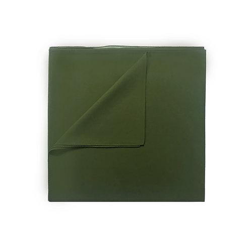 Plain Square Chiffon | Olive Green