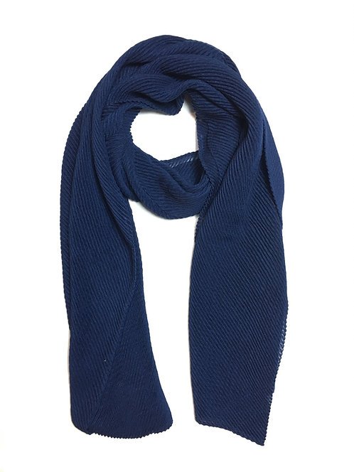 Ripple Hijab | Navy
