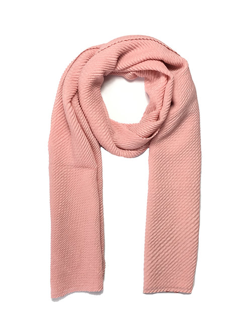 Ripple Hijab | Light Pink