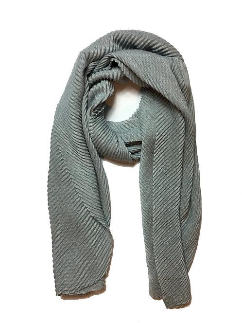 Ripple Hijab | Grey